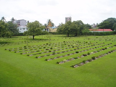 Commonwealth War Cemetery Rangoon