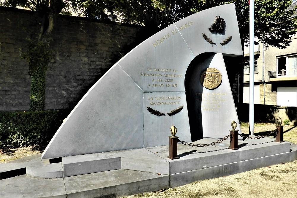 Monument aux Chasseurs Ardennais
