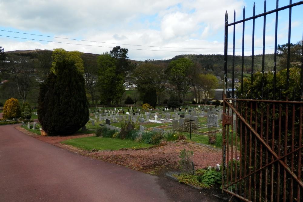 Commonwealth War Graves Rothbury Cemetery