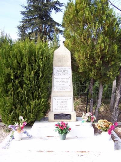 Monument Omgekomen Leden van het Verzet