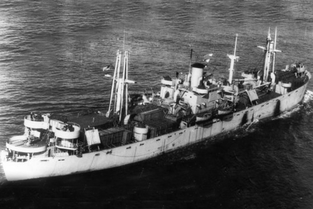 Shipwreck SS Paul Hamilton