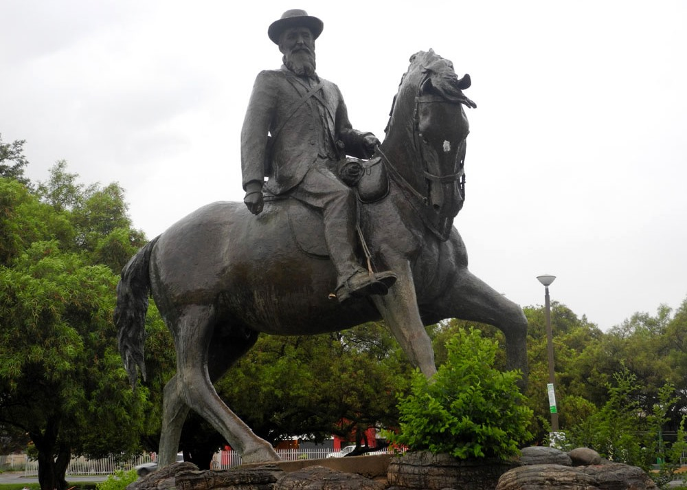 Standbeeld van Koos de la Rey