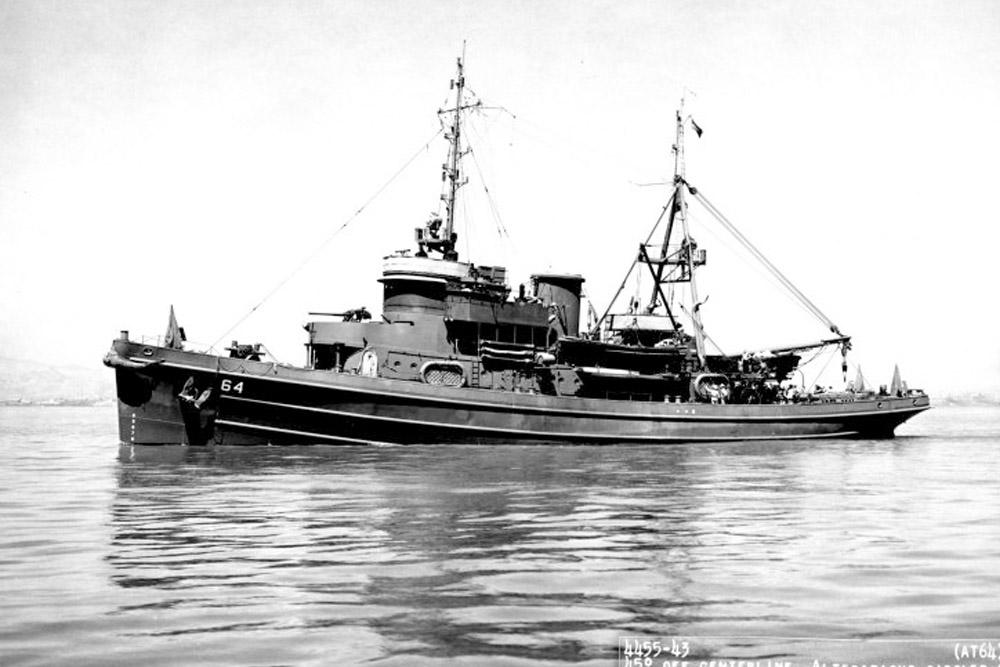 Shipwreck U.S.S. Navajo (AT-64)