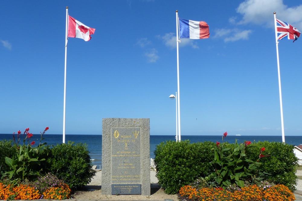 Memorial Commando-Raid 28 September 1941
