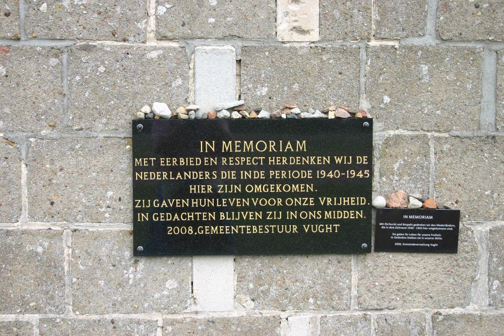 Dutch Plaque Sachsenhausen