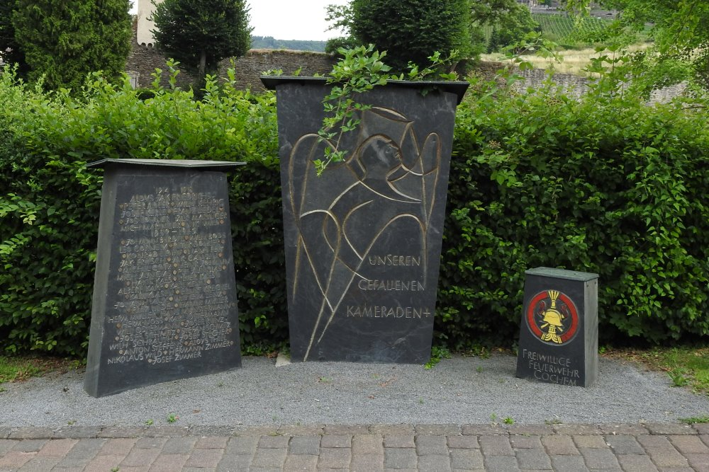 War Memorial Cochem Firefighters