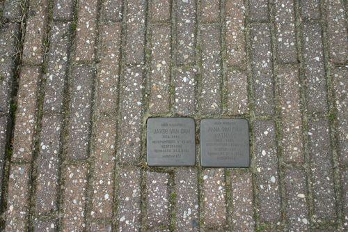 Stumbling Stones Bernhardlaan 12
