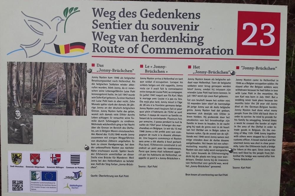 Route of Commemoration No. 23: Jonny-Brückchen