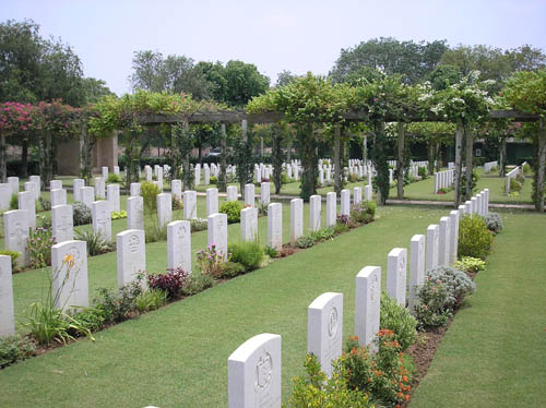 Commonwealth War Cemetery Delhi