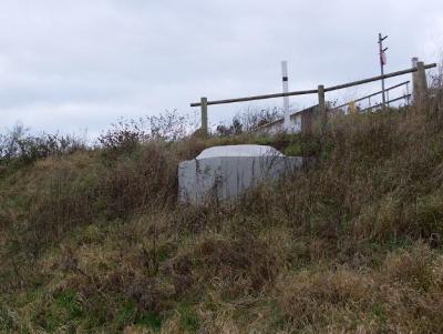 Tobruk ringstand Bunker Frontzate