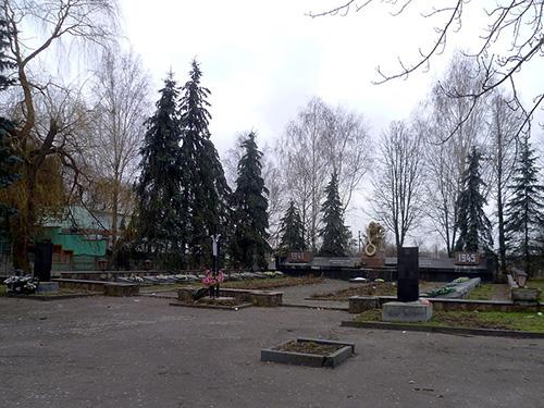Sovjet Oorlogsbegraafplaats Torchyn
