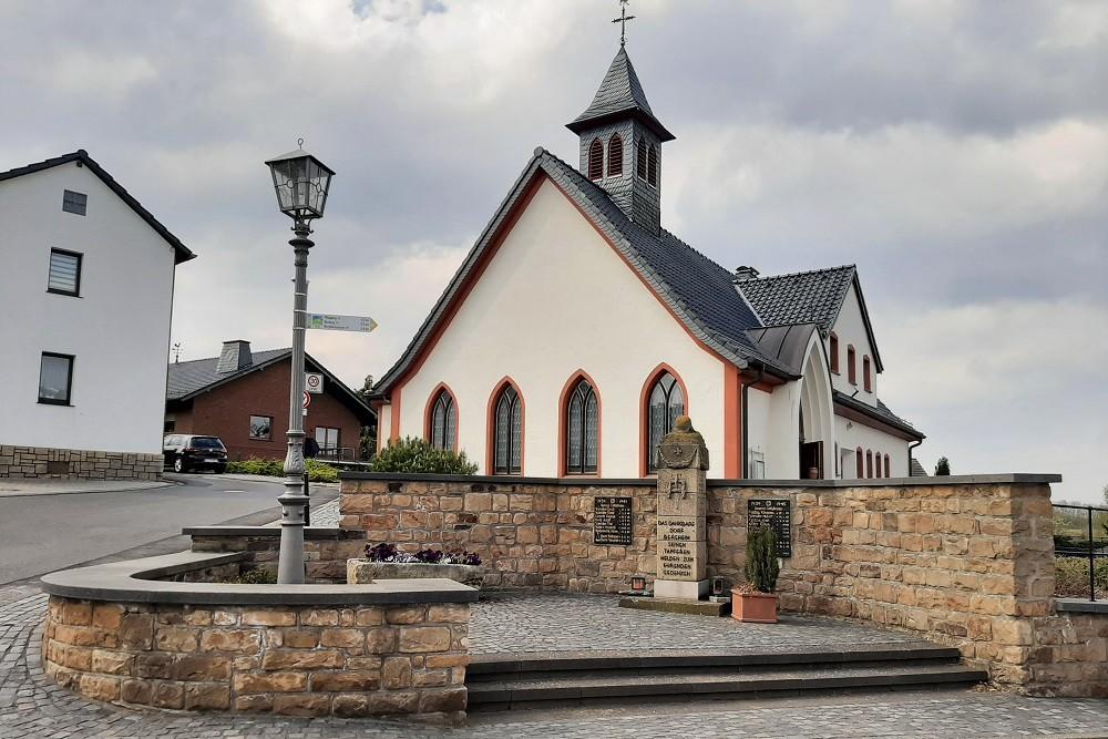Oorlogsmonument Bergheim