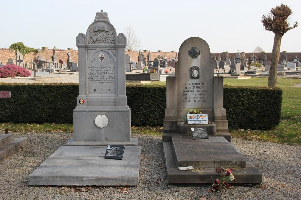 Belgische Oorlogsgraven Thorembais-les-Béguines