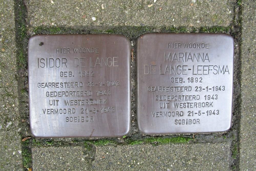 Remembrance Stones Jan van Eijckstraat 5