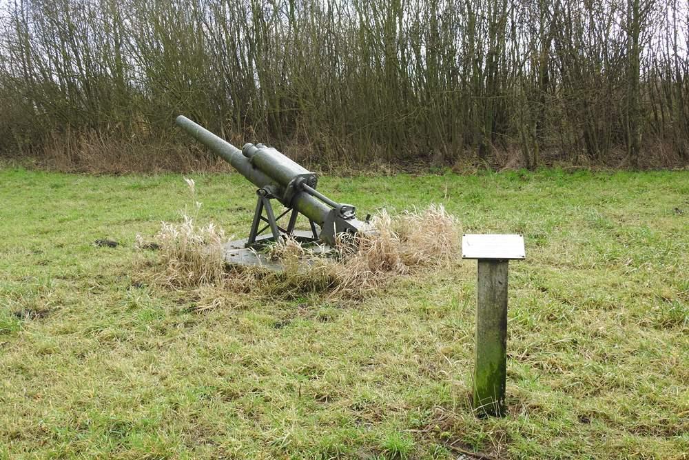 German 105 mm. Gun Lage Zwaluwe
