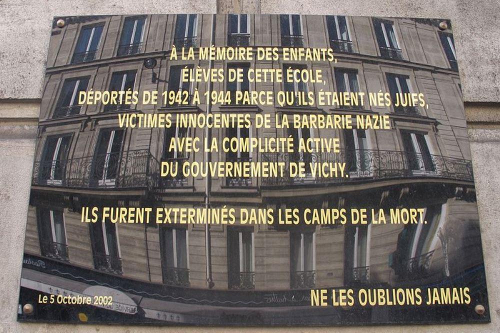 Plaque Roger Jaudoux