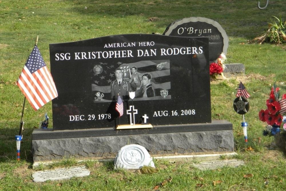 Amerikaans Oorlogsgraf Burr Oak Township Cemetery