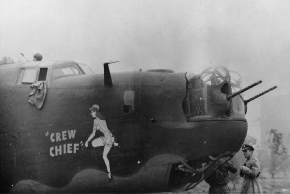 Crashlocatie B-24H-1-FO Liberator # 42-7540