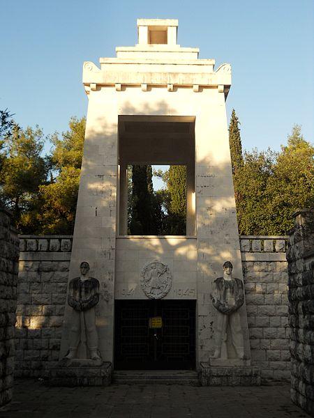 Monument Omgekomen Partizanen Podgorica