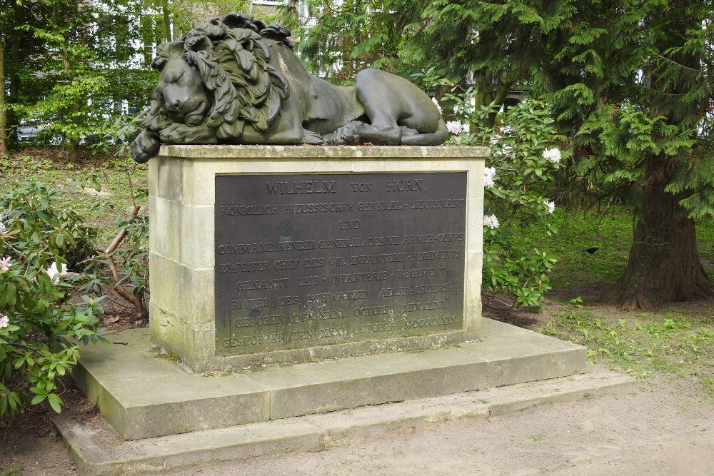 Grave of General Heinrich Wilhelm von Horn