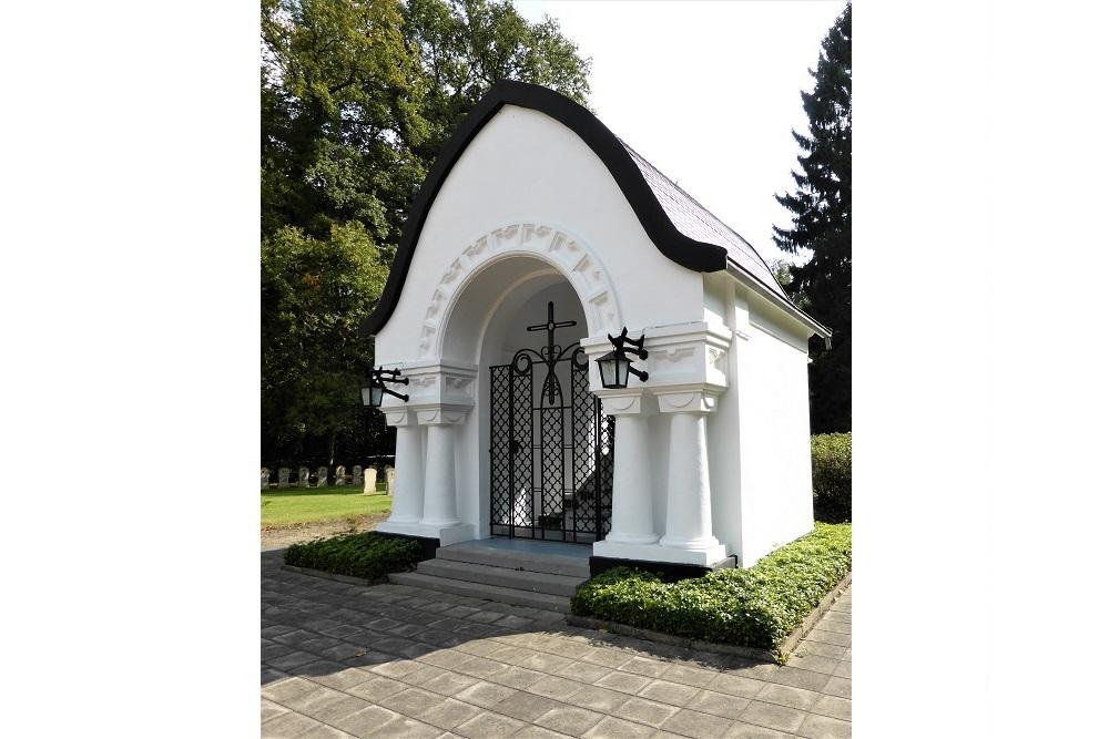 Remembrance Chapel Belgian War Cemetery Leopoldsburg