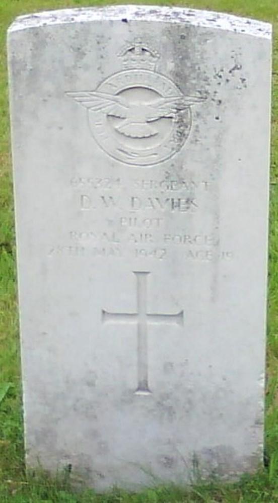 Commonwealth War Graves Cwm Cemetery
