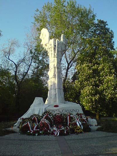 Monte Cassino Monument Warschau