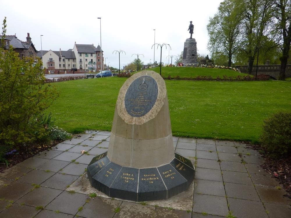 Nimrod-monument Forres