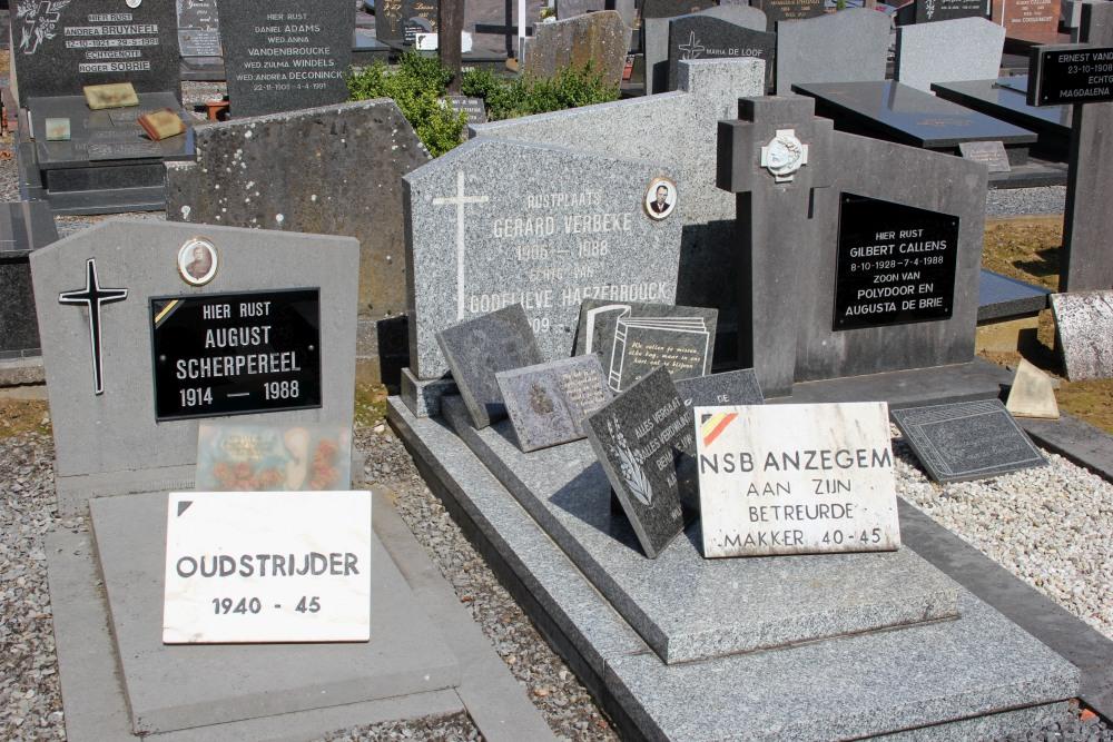 Veteran War Graves Anzegem