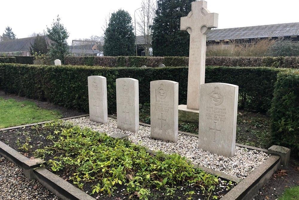 Oorlogsgraven van het Gemenebest Algemene Begraafplaats Ommen