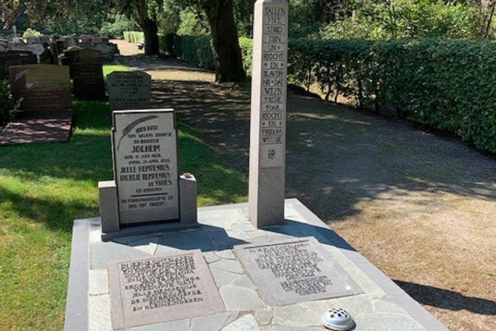 Dutch War Graves Municipal Cemetery Bakkeveen