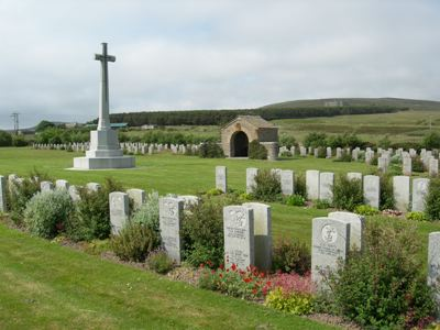 Commonwealth War Graves Lyness Royal Naval Cemetery