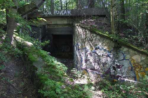 Ruïne Ondergronds Complex Rīga