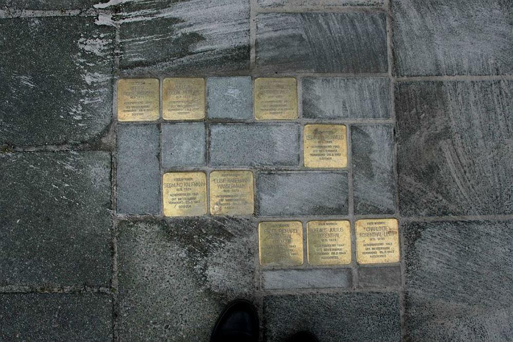 Stumblingstones Wassenberghstraat 24
