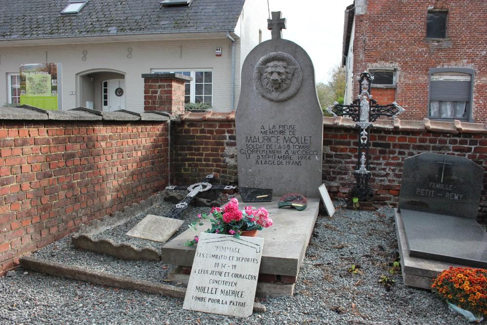 Graven Gesneuvelde Verzetsstrijders Dergneau