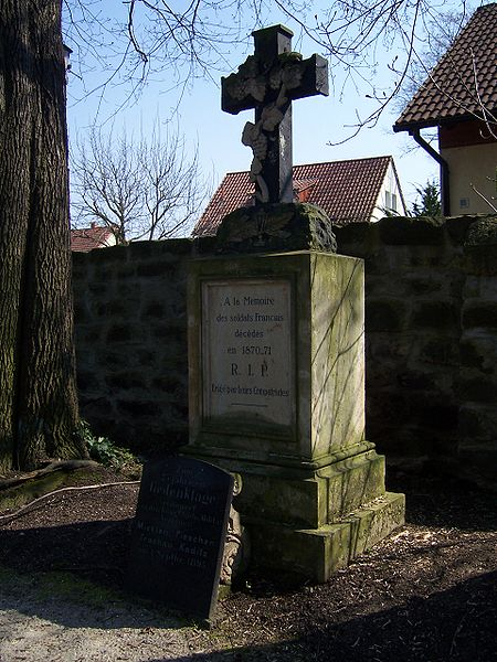 French Plot Franco-Prussian War 2. Friedhof