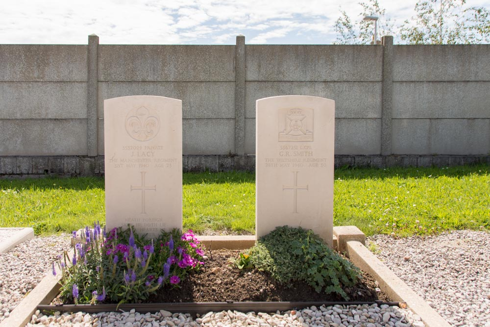 Commonwealth War Graves Municipal Cemetery Bray-Dunes