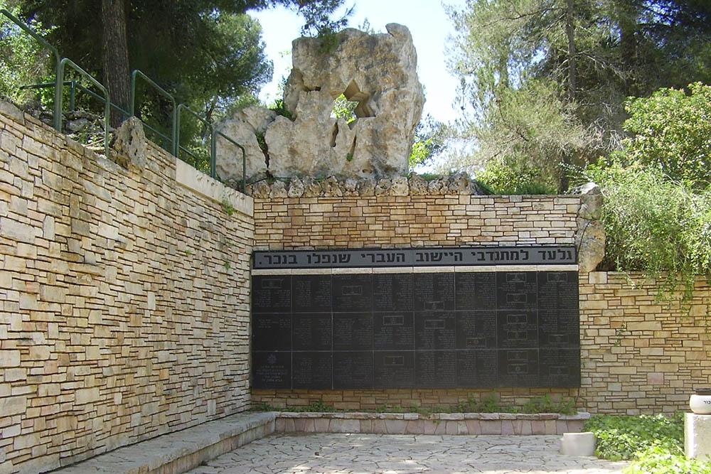 Memorial for the Ishuv Volunteers