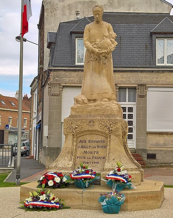 Oorlogsmonument Ailly-sur-Noye