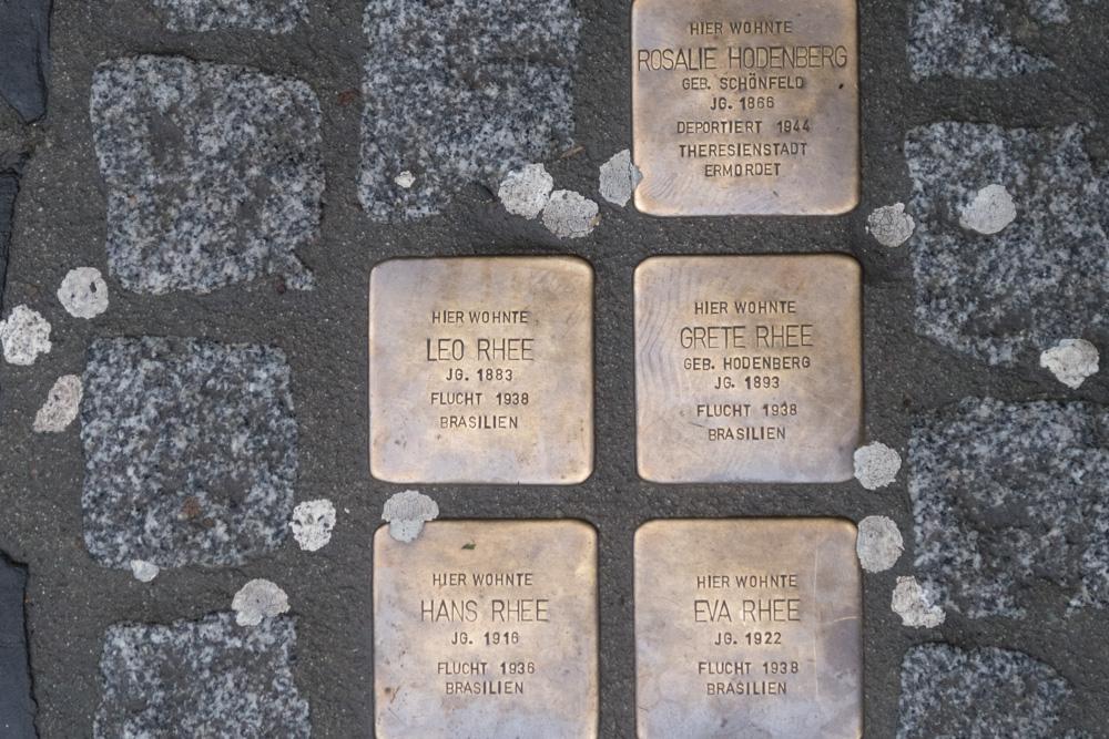 Stumbling Stones Komissstraße 4
