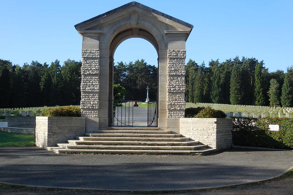 Oorlogsbegraafplaats van het Gemenebest Becklingen