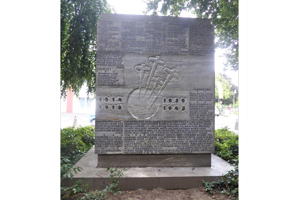 War Memorial Ahrweiler