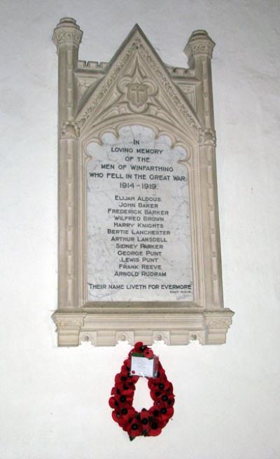 War Memorial St. Mary Church