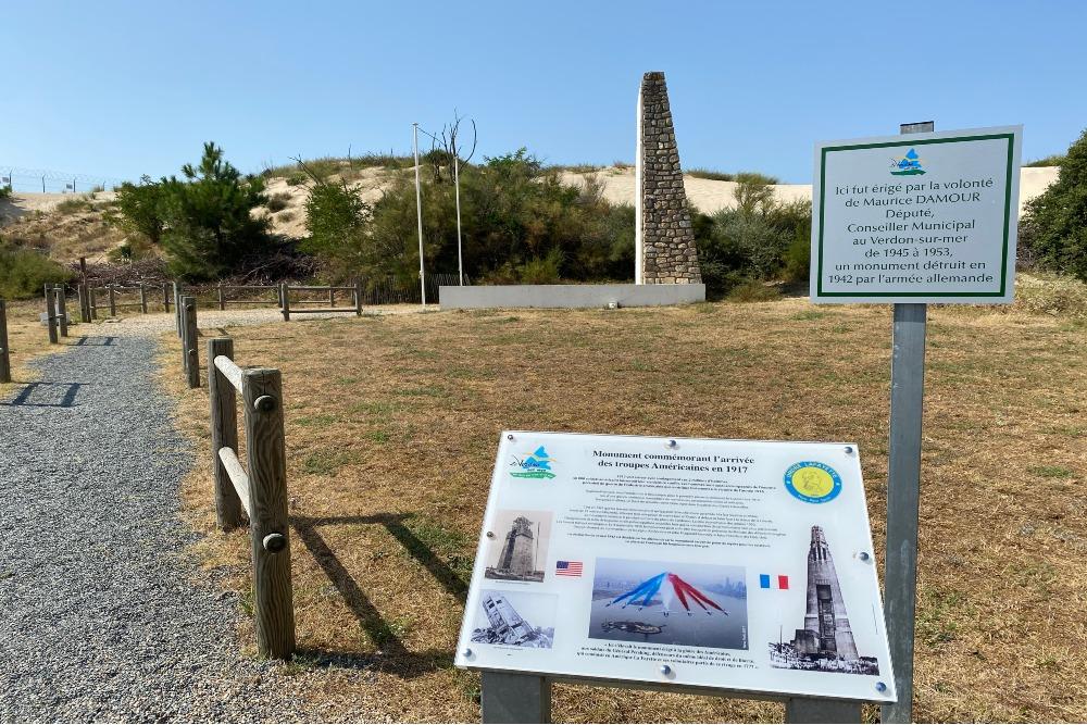 Memorial American Soldiers Pointe de Grave