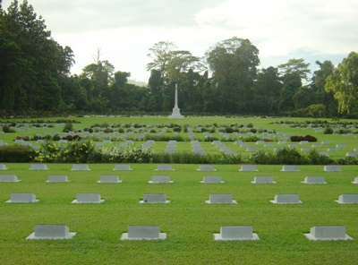 Commonwealth War Cemetery Lae