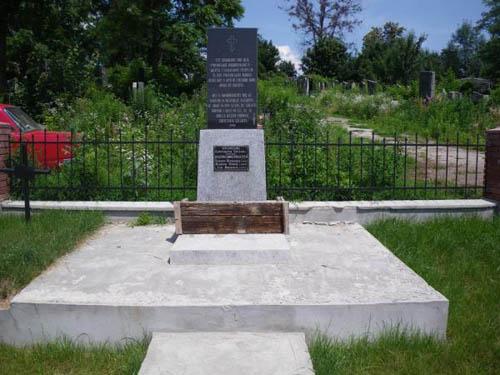 Massagraf Burgerslachtoffers Chernivtsi