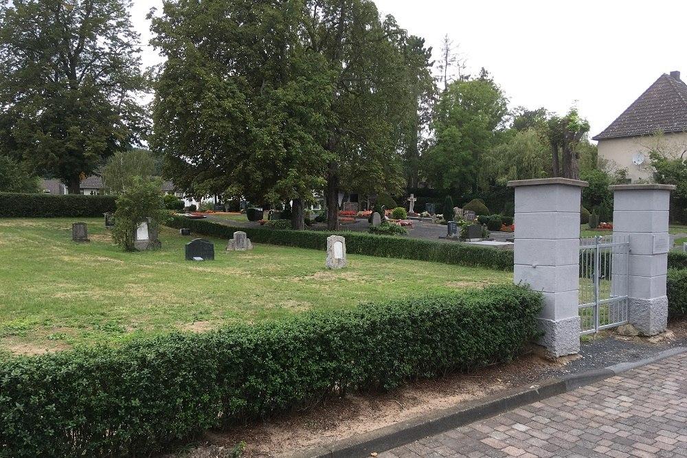 Restored Jewish Cemetery Unkel