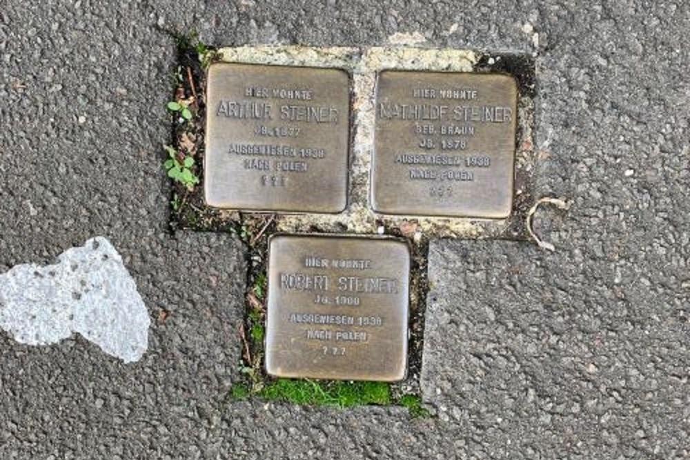 Stumbling Stones Marktstraße 32