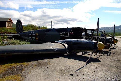 Replica Wreck Heinkel He 111 Bomber