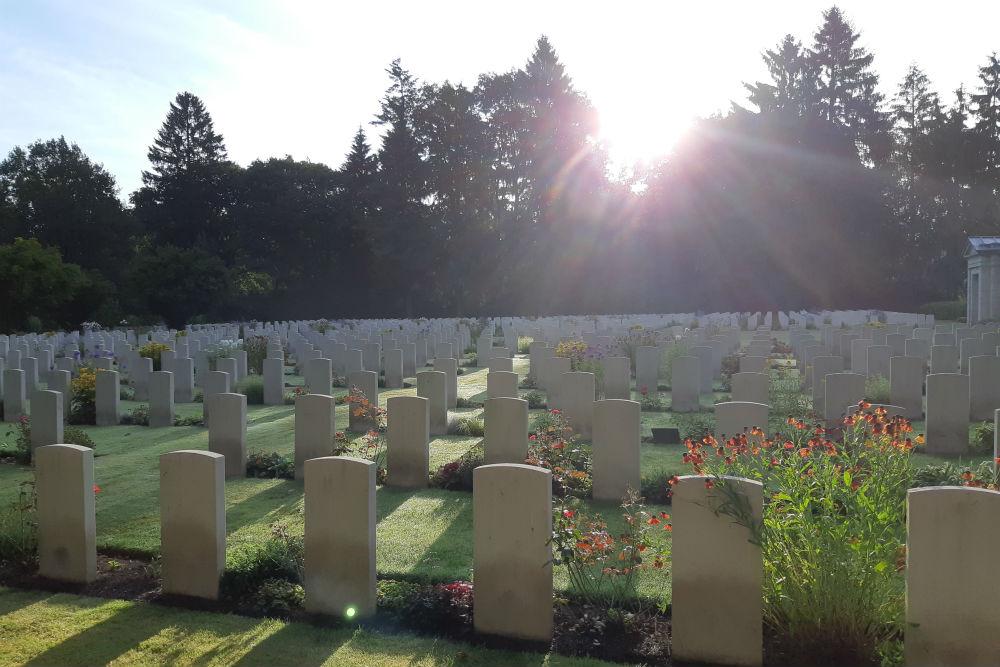 Oorlogsbegraafplaats van het Gemenebest Begraafplaats Friedhof Ohlsdorf Hamburg